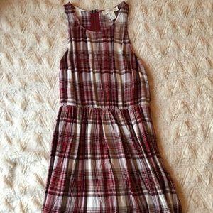 Plaid forever 21 dress